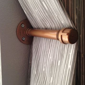 Industrial Chic Curtain Tie Back