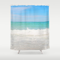 Beach Anna Maria 4 - Shower Curtain