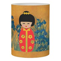 Asian Dolls Flameless Candle