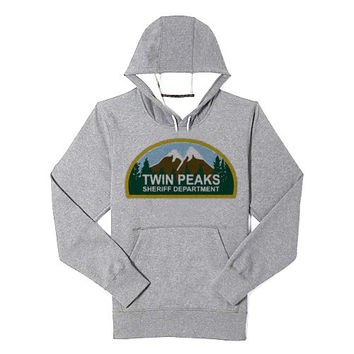 Twin Peaks hoodie heppy feed and sizing.