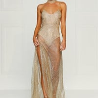 Jewels Gown- GOLD