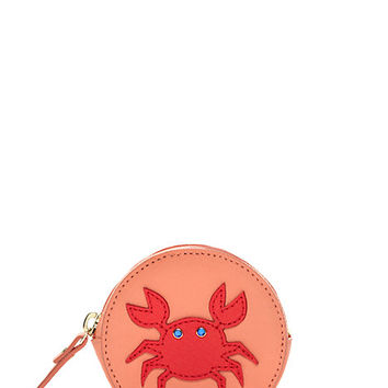 Kate Spade Splash Out Crab Coin Purse Geranium ONE