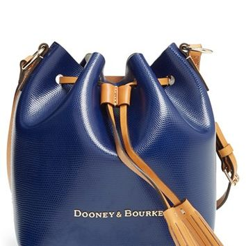 Dooney & Bourke 'Serena' Embossed Leather Crossbody Bag