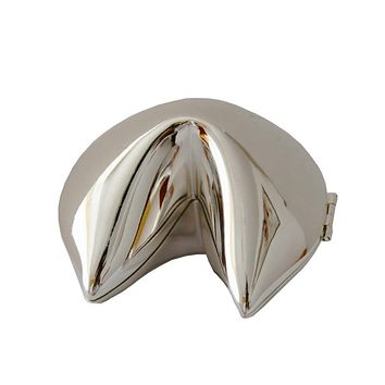 Fortune Cookie Message Box in Silver or Gold