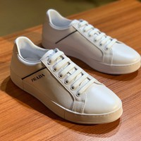 Best Quality Prada 2020 Popular Men Casual Breathable white black, Canvas Sneakers Running Shoes TREDING mens Valentino low top shoe boots