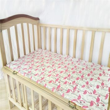 Baby Fitted Sheet muslin Bed Sheets Covers Mattress Cover Protector crib sheet baby bedding set