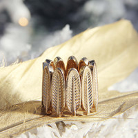 Spirit Feather Ring