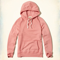 Girls Feel Good Fleece Icon Hoodie | Girls Tops | HollisterCo.com