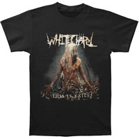 Whitechapel Men's  This Is Exile T-shirt Black Rockabilia