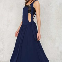 Nasty Gal Stay Overall Maxi Dress