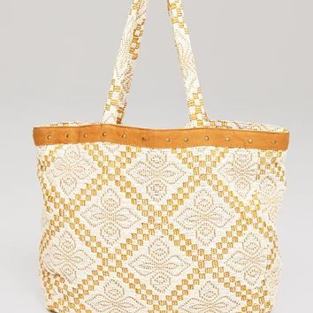 AMUSE SOCIETY - Coastal Love Affair Tote | Camel