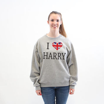 One Direction I Love Harry Styles Harry Potter 428 Sweatshirt x Crewneck x Jumper x Sweater