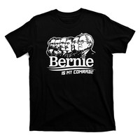 Bernie Sanders Is My Comrade Shirt in Black by Liberty Maniacs
