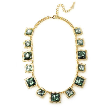 Emerald Acrylic Necklace