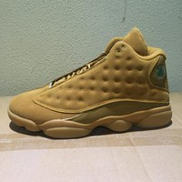 Best Deal Online Nike Air Jordan 13 Retro Wheat 414571-705 Men Basketball Sneakers Sports Shoes