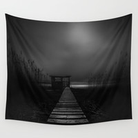On the wrong side of the lake 4 Wall Tapestry by HappyMelvin