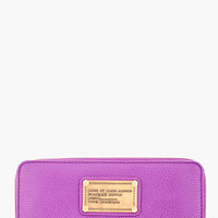 Marc By Marc Jacobs Purple Classic Zip Around Wallet for Women | SSENSE