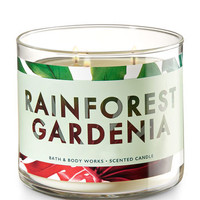 RAINFOREST GARDENIA3-Wick Candle