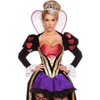 Sultry Heartless Queen Halloween Costume LAVELIQ