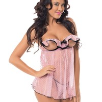 Delightful Flutter Cup Baby Doll