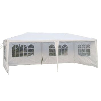 Party Tent Wedding Gazebo Canopy Outdoor w/4 Sidewalls New 10'x 20'
