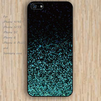 iPhone 5s 6 case mint green glitter dream catcher colorful phone case iphone case,ipod case,samsung galaxy case available plastic rubber case waterproof B623