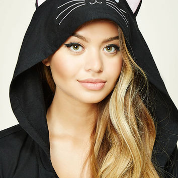 I'm a Cat Graphic PJ Hoodie