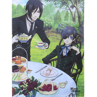 Black Butler Dining Fabric Poster