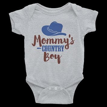 Mommy's Country Boy Onesuit