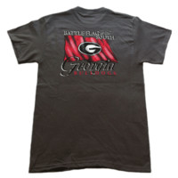Georgia Battle Flag T-Shirt | Georgia Bulldogs Apparel | UGA T-Shirt
