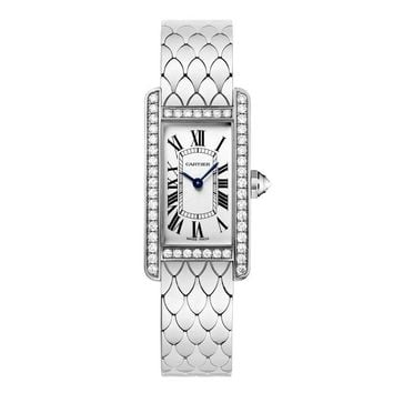 Cartier Tank Americaine Ladies Quartz Watch WB710009