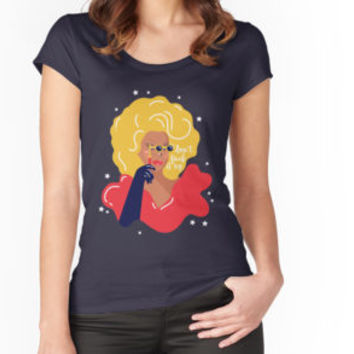 'RuPaul' T-Shirt by Niege Borges