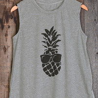 Cupshe Bask In It Pineapple Tank Top