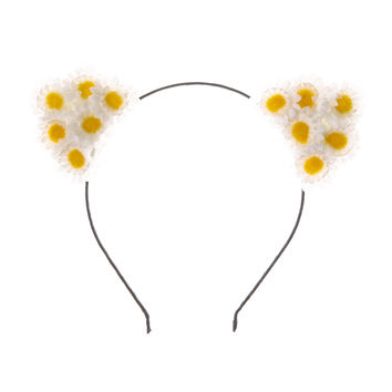 Katy Perry Flower Cat Ear Headband