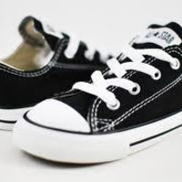 Converse Infant Chuck Taylor OX-Black
