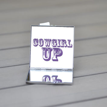 Cowgirl up | Cowgirl gift idea | Country girl | Cowgirl birthday party favor or unique gift