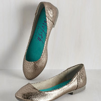 Urban See and Be Sheen Flat by Blowfish from ModCloth