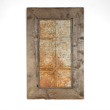 Reclaimed Barn Wood - Rustic Wall Art - Antique Farmhouse - Rustic Wall Decor - Reclaimed Wood Art - Vintage Art - Industrial Decor - Unique