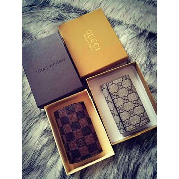 LouisVuitton  Gucci The folding size of key package is 9 cm high and 6 cm wide.