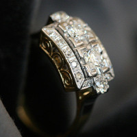 Diamond Engagement Ring by Ruby Gray's | Ruby Gray's Antique & Vintage Rings