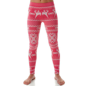 Christmas Deer reindeer Elephant Swallow Geometric unicorn Print Women Leggings Elastic Sexy Tayt Fitness Leggins Calzas Mujer