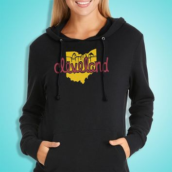 Our State Cleveland Cavs Ohio Women'S Hoodie