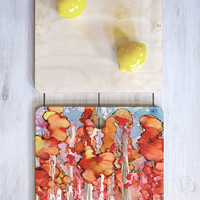 Rosie Brown Awesome Autumn Cutting Board Square