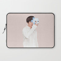BTS Taehyung | Singularity Laptop Sleeve by marylobs