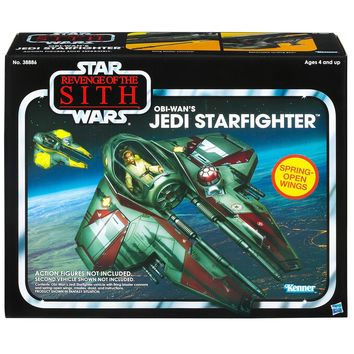 Star Wars, The Vintage Collection, Episode III Revenge of the Sith Vehicle, Obi-Wan's Jedi Starfighter