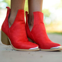 Step by Step Booties - Red