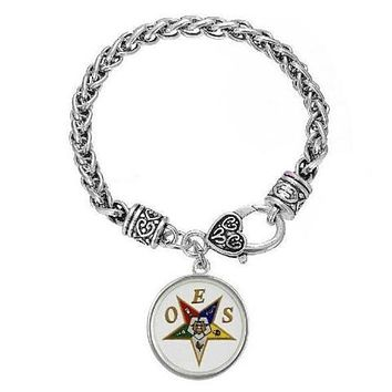 Order of The Eastern Star OES Bracelet