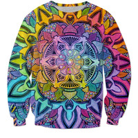 Rainbow Lotus Sweatshirt