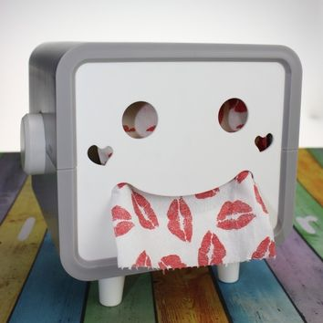 Smiley Face Tissue Box