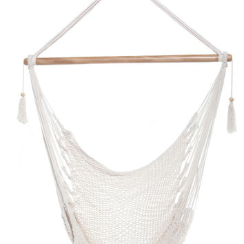 Mission Hammocks Hanging Hammock Chair Organic Cotton - Solid Color